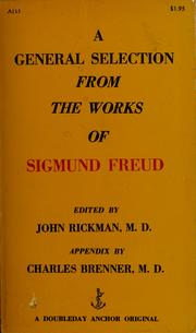 Cover of: A general selection from the works of Sigmund Freud | Sigmund Freud