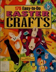 Cover of: 175 easy-to-do Easter crafts | Sharon Dunn Umnik