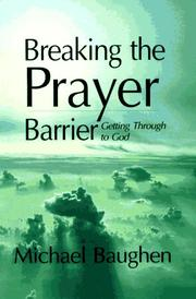 Cover of: Breaking the Prayer Barrier | Michael Baughen