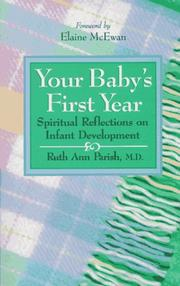 Cover of: Your baby's first year