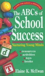 Cover of: ABCs of school success | Elaine K. McEwan