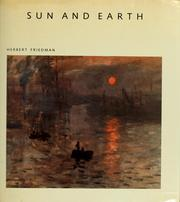 Cover of: Sun and Earth | Friedman, Herbert