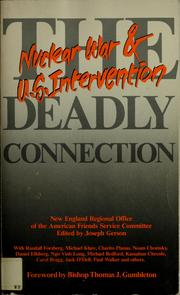 Cover of: The Deadly connection | Joseph Gerson