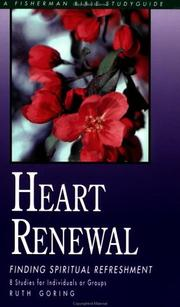 Cover of: Heart Renewal | Ruth Goring
