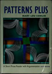 Cover of: Patterns plus | Mary Lou Conlin