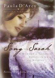 Cover of: Song for Sarah