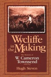Cover of: Wycliffe in the making