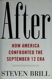 Cover of: After | Steven Brill