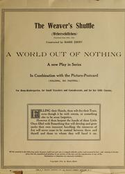Cover of: The weaver