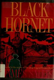 Cover of: Black hornet | James Sallis