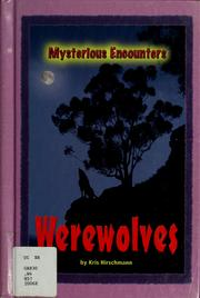 Cover of: Werewolves | Kris Hirschmann