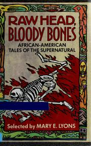 Cover of: Raw head, bloody bones