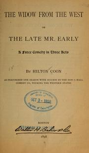 Cover of: The widow from the West | Hilton Coon