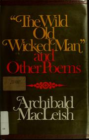 Cover of: The wild old wicked man