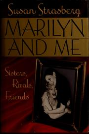 Cover of: Marilyn and me by Susan Strasberg