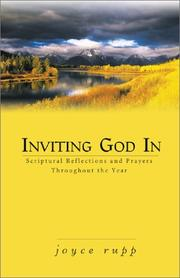 Cover of: Inviting God in: Scriptural Reflections and Prayers Throughout the Year
