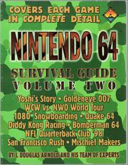 Cover of: Nintendo 64: Survival Guide Volume Two