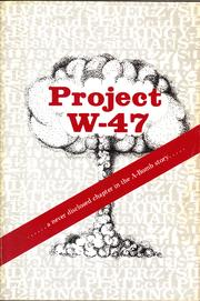 Cover of: Project W-47