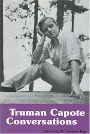 Cover of: Truman Capote: conversations