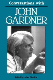 Cover of: Conversations with John Gardner