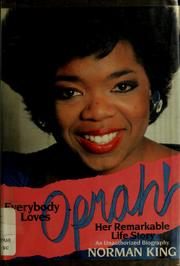 Everybody Loves Oprah! by Norman King