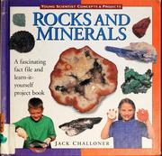 Cover of: Rocks and minerals | Jack Challoner