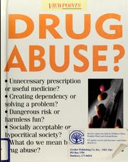 Cover of: Drug abuse? | Emma Haughton