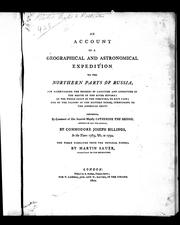 An account of a geographical and astronomical expedition to the northern parts of Russia by Martin Sauer