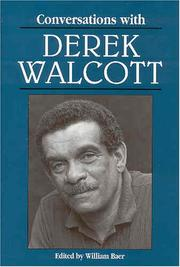Cover of: Conversations with Derek Walcott