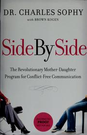 Cover of: Side by side | Charles Sophy
