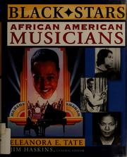 Cover of: African American musicians | Eleanora E. Tate