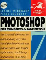 Cover of: Photoshop 7 for Windows and Macintosh | Elaine Weinmann