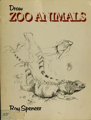 Cover of: Draw zoo animals | Roy Spencer