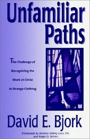 Cover of: Unfamiliar paths