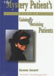 Cover of: The mystery patient