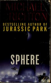 Cover of: Sphere: a novel