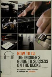Cover of: How to DJ | Tom Frederikse