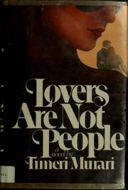 Lovers are not people