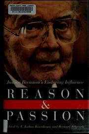 Cover of: Reason and passion | E. Joshua Rosenkranz, Schwartz, Bernard
