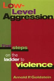 Cover of: Low-level aggression