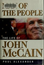 Cover of: Man of the people | Alexander, Paul