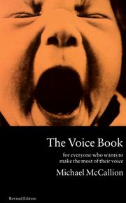Cover of: The voice book