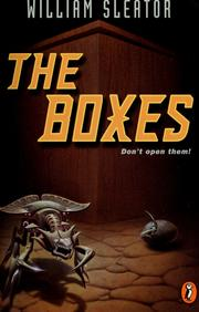 Cover of: The boxes | William Sleator