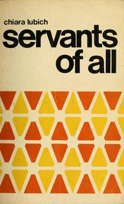 Servants of all by Chiara Lubich