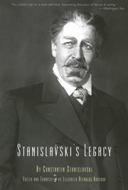 Cover of: Stanislavski's legacy