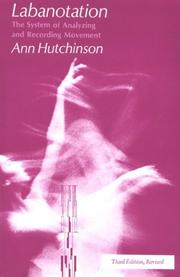 Cover of: Labanotation | Ann Hutchinson Guest