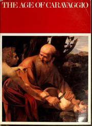 Cover of: The Age of Caravaggio by Metropolitan Museum of Art (New York, N.Y.)