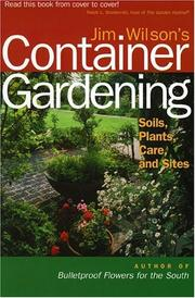 Cover of: Jim Wilson's Container Gardening