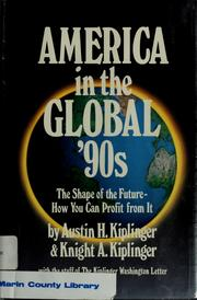 Cover of: America in the global