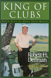 Cover of: King of Clubs | Robert H. Dedman
